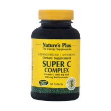 NATURE'S PLUS Super C-Complex S/R 60pcs