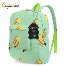 Guapabien Shallot Print Hardware Link Zipper Portable Backpack for Unisex