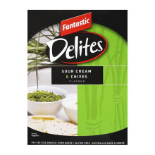 FANTASTIC Delites Crackers Sour Cream & Chives #407 80g