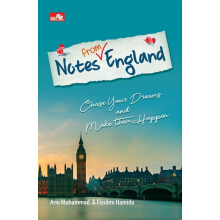 Notes from England - Ario Muhammad, Fissilmi Hamida - 9786020450964