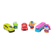 PORORO Diecast Car Set