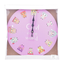 BLOOM & BLOSSOM Wall Clock - Owl of The World