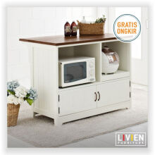 Meja Makan D60 French Country - LIVIEN FURNITURE
