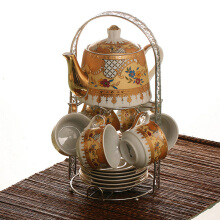 VICENZA Tea Set C96  - Camelia Motif