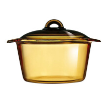 LUMINARC Vitroline amber blooming casserole induction 3 Ltr - FK524