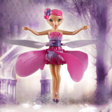 BESSKY Flying Fairy Doll Hand Infrared Induction Control Dolls - Pink