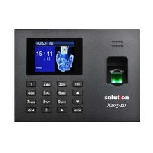 Solution X105-ID Mesin Absensi Fingerprint dan Akses Pintu - Black