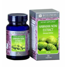 WELLNESS Hawaiian Noni Extract 500mg 35 Capsules