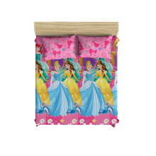 PILLOW PEOPLE Bed Sheet Set - Princess Group / 160x200cm