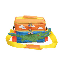 GABAG 3D Kids Lunchbag Croco