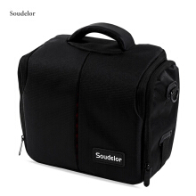 Soudelor Zippered Waterproof Convertible Canvas Camera Case