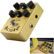 JOYO JF - 13 True Bypass Design AC Tone Vox Amp Simulator Electric Guitar Effect Pedal with Aluminum Alloy Casing
