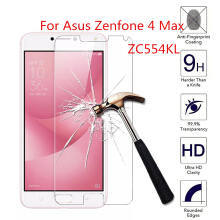 Keymao Asus ZenFone 4 Max ZC554KL Tempered Glass Screen Protector 2.5D 9H Hard