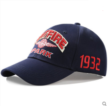 BAI B-224 Adjustable Baseball Cap MBL Hiphop cap with SPITFIRE-SPARK design Dark Blue color