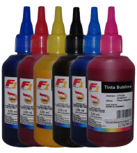 F1 Ink For Epson Sublime - 1 Set (CMYK PC PM)