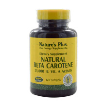 NATURE'S PLUS Beta Carotene - 25000 IU 60pcs