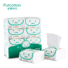 PurCotton Cotton Tissue for Baby 8packages