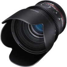Samyang 50mm T1.5 VDSLR AS UMC Lens for Sony E Mount Black