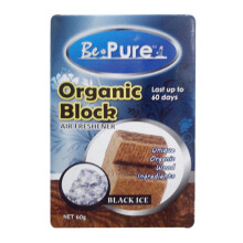 BEPURE Organic Block Black Ice BP-60-OB BI Pengahrum [60ml]