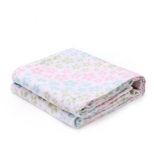 PurCotton Baby Gauze Bath Towel 80x140cm 1piece/bag Row of Cherry