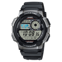 Casio Men's Resin Sport Watch with Black Band - AE-1000W-1BVCF