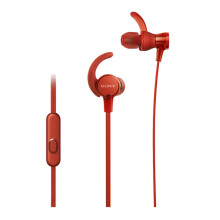SONY MDR-XB510ASRQE Extra Bass Earphone - Red
