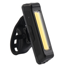 100LM LED USB Rechargeable Head Light Flash Bicycle Bike Tail Safety Lamp
