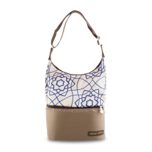 NATURAL MOMS Cooler Bag Tote - Brown Floral