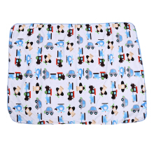 Comfortable Soft Baby Child Cartoon Car Print Double Layers Cover Hold Blanket 102 X 76.6 X 0.5 CM