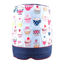 ARNOLD CARDEN Water Dispenser Bottle Cover Cup Cake Polkadot - Dark Blue