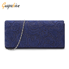 Guapabien Simple and Decent Lace Minaudiere Handbag