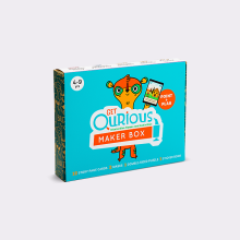 GET QURIOUS - Maker Box Magically Brings Stories to Life Aqua