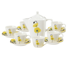 NAKAMI Tea Set Yellow Daisy NAR03 - 14 PCS