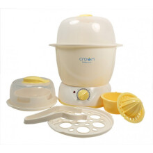 CROWN Multisteamer With Timer - Yellow