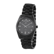 Teiwe Collection TC-CG2005 Jam Tangan Pria Stainlles Steel - Hitam