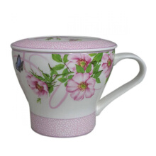 ST. JAMES Mug Set Charlotte Pink 12 Oz