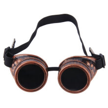 Cyber Goggles Steampunk Glasses Vintage Retro Welding Punk Gothic Victorian