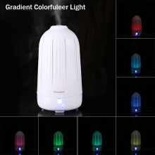Excelvan 2L Ultrasonic Air Humidifier Diffuser Purifier Aroma diffuser with LED Light Changing Touch Button US