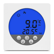 Floureon BYC15.H3 16A Blue LCD Display Thermostat