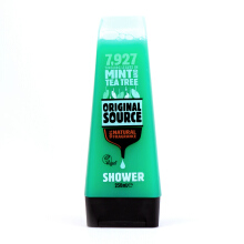 ORIGINAL SOURCE [NEW] Shower Mint & Tea Tree Bottle 250 ml - New