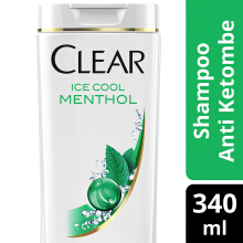 CLEAR Shampoo Ice Cool Menthol 340ml