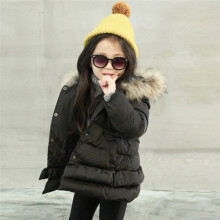 BESSKY Baby Girl Boy Autumn Winter Cotton Hooded Coat Jacket Thick Warm Outwear Clothes_