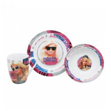 TECHNOPLAST Barbie Porcelain Tableware