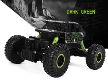 HB P1801 2.4GHz 1:18 Scale RC Rock Crawler 4WD Race Truck Toy EU PLUG-Green