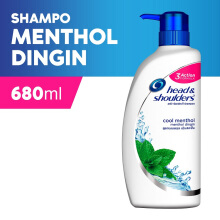 HEAD & SHOULDERS Shampoo Cool Menthol 680ml