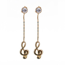 1901 JEWELRY Anting Nots Studs (Lapis Emas 24K)