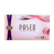 PASEO Ultrasoft Facial Travel Pack 60's