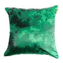 GLERRY HOME DÉCOR Green Emerald Cushion - 40x40Cm