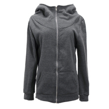 ZANZEA Winter Warm Women Fleece Coat Hoodie Jacket Jumper Sweats Parka Outwear