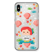 CASETOMIZE Classic Hard Case for Apple iPhone X - Chubby Ariel Tsum